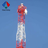 Telecom Square Steel Tower For Morocco