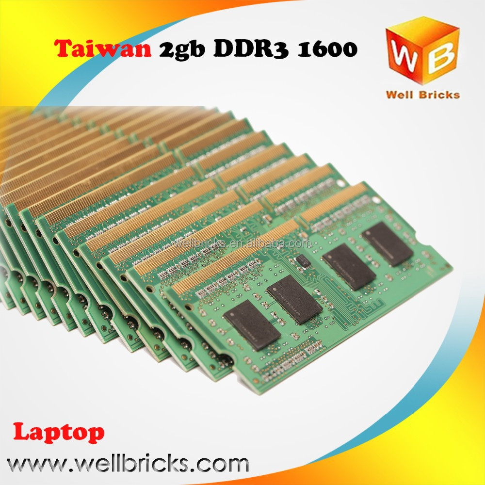 Cheap and nice Popular laptop 2gb memoria ram ddr3 on PC12800 PC10600 PC8500
