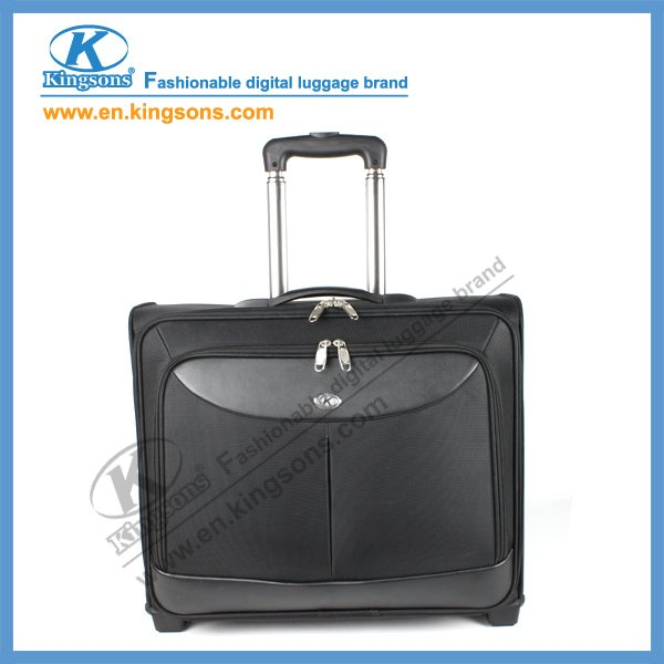 "Newest Kingsons Brand 15.6"" K8214W Nylon Laptop Trolley Luggage Bag"