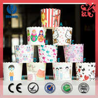 greaseproof muffin cups paper cupcake in opp bag