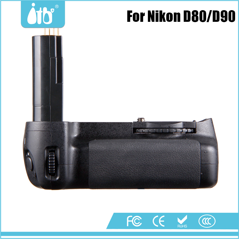 DSTE MB-D80 Vertical Battery Grip For Nikon D80 D90 SLR Camera as EN-EL3E