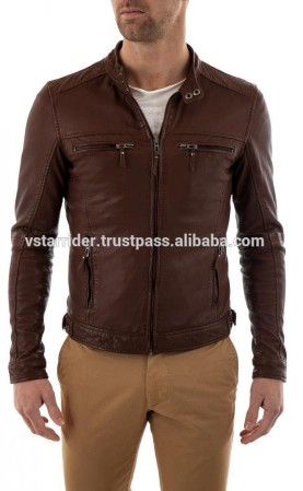 Leather Fashion Jacket - VSR - MFJ 3001