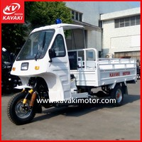 KAVAKI White Ambulance Car Price Reverse Trike Motorcycles / Adult Electric Tricycle for Adult