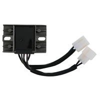 New Black Motorcycle DC 12V Voltage Regulator Rectifier For AN125 5 wires