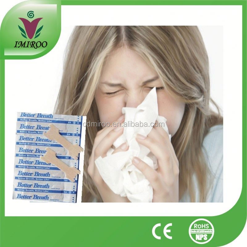 NASAL STRIPS ANTI SNORE, BREATH EASY FOR SPORTS , COLDS 100% DRUG FREE
