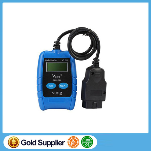 VC210 VAG CAN BUS Fault Code Reader OBD OBD2 Code Reader Scanner Auto diagnostic tool Auto Scanner for AUDI, VW