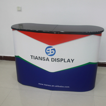 advertising foldable display promotion counter booth