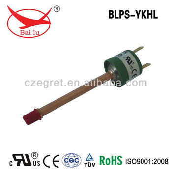 Automatic reset pressure switch for air compressor water/heat pump