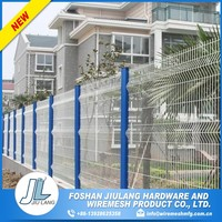 secure pvc coated construction hoarding fence