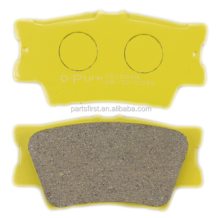 OE 0446633180 Professional Manufacturer chinese auto back plate disc brake pads for Toyota RAV4 Camry D2269