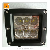 cube led work light 18watt for nissan navara cree 18w led offroad light pods