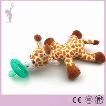China factory wholesale hot animal plush baby teethers toy with high quality