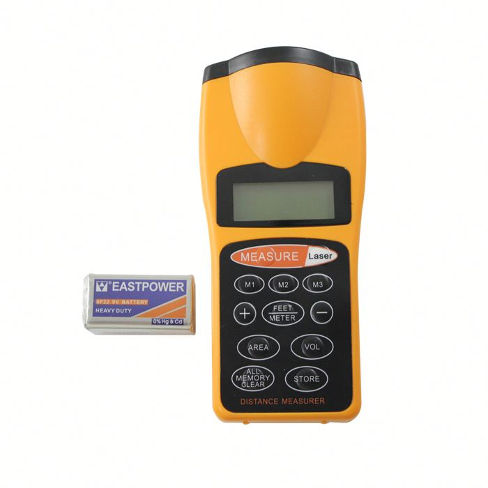 wireless fish alarm ,H0T010 hot selling 100meter laser distance meter