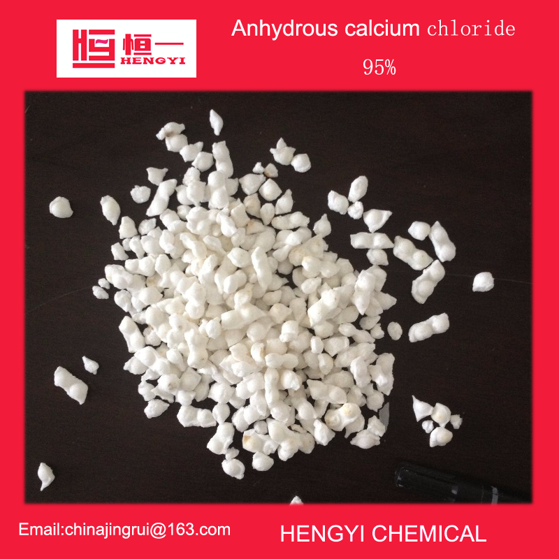 Best price anhydrous calcium chloride 95% granule highway maintenance