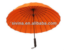 Manual Open Straight Japanese Style 24 Ribs Umbrella