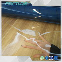 pvc plastic transparent raw material clear cosmetic bags film