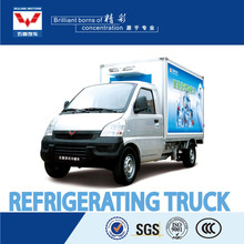 Refrigerating truck and van
