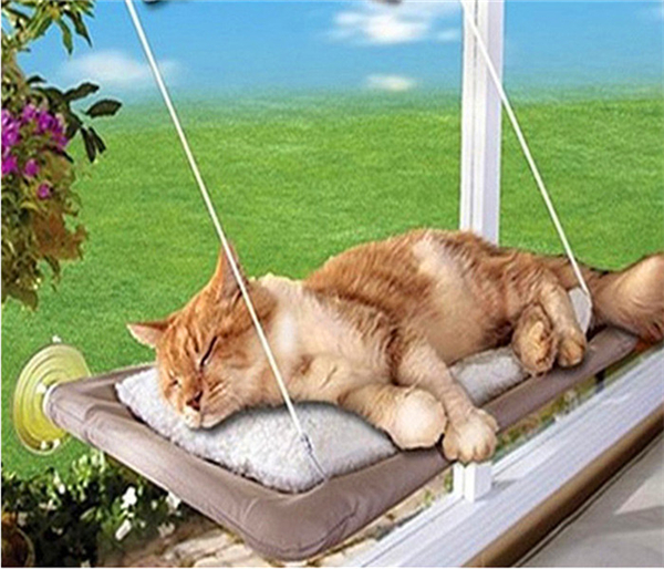 Hot selling New Window Mount Cat Bed Pet Hammock As Seen On TV Sunny Seat Pet Beds