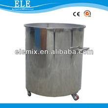 Industrial batch production mixing container for paint/ink/dye