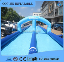 Giant Inflatable Water Slide , Inflatable Slide The City for Crazy, inflatable long water slide
