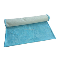 Yoga towel with PVC net bottom anti-slip fitness towel