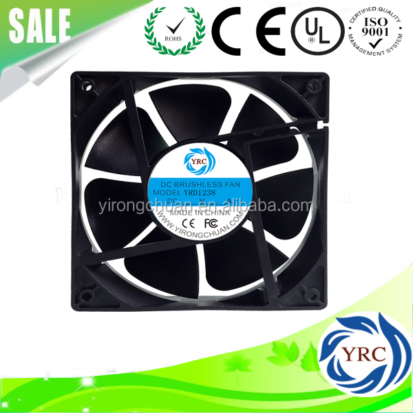 DC12V 24V 120*120*38mm axial flow fan electric welding machine direct current
