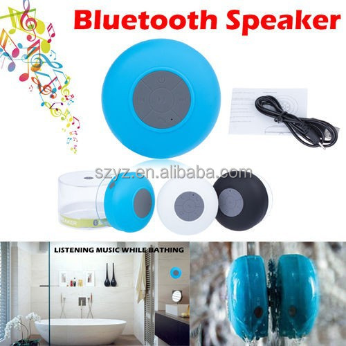 Waterproof Wireless Bluetooth Shower Speaker Outdoor Portable For iPhone 6 plus