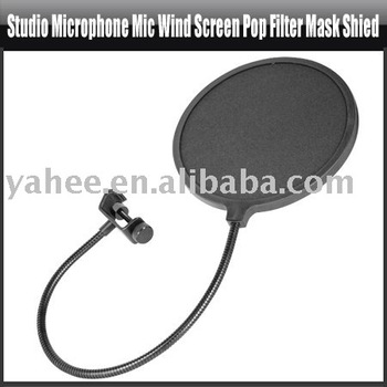 Studio Microphone Mic Wind Screen Pop Filter Mask Shied,YAN301A