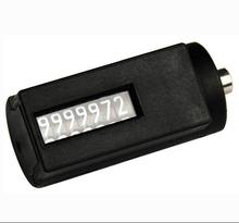 Plastic component square mold shot counter digit
