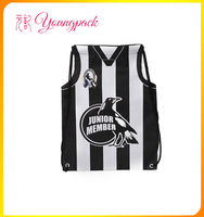 2016 new products recyclable polyester sport bag
