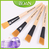 BQAN Wood Handle Cosmetic Soft Nylon Hair Facial Mask Brush Make up