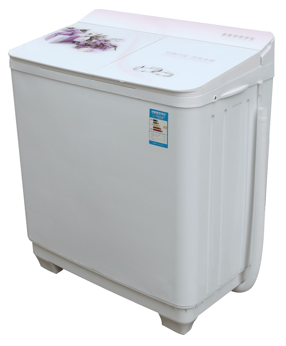 Rong Sheng Brand Zhen Ai Chuan Cheng XPB96-9188S 9.6KG capacity Twin-tub semi-automatic washing machine for home use