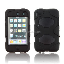 Heavy duty case for iPod touch 4 with screen protector and kickstand