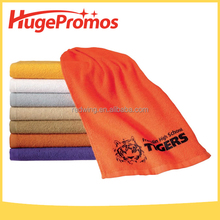 Custom logo 100% Cotton Spirit Rally Towel For Promotion