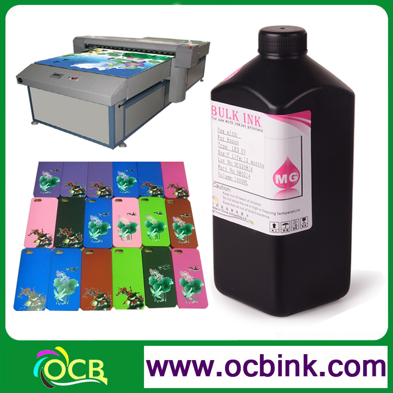 Best Selling UV LED Ink For PVC Acrylic Metal Glass Ceramic For Spectra Polaris