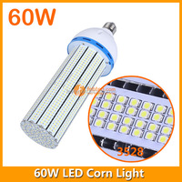 High power 360 Degree SMD 3528 LED E40 E27 LED Street Light Lamp 60W Led Corn Light