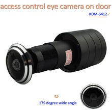 front door entry video security camera, access control eye camera on door