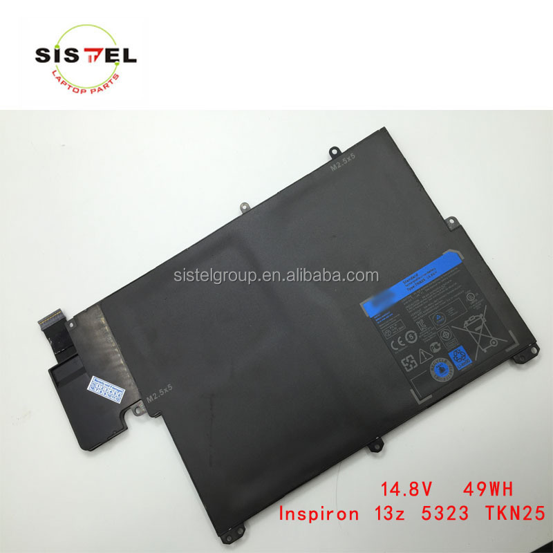 laptop battery for use with dell TKN25 Genuine Battery For Dell Inspiron 13z 5323 i13z-8864SLV Vostro 3360 TKN25 0V0XTF
