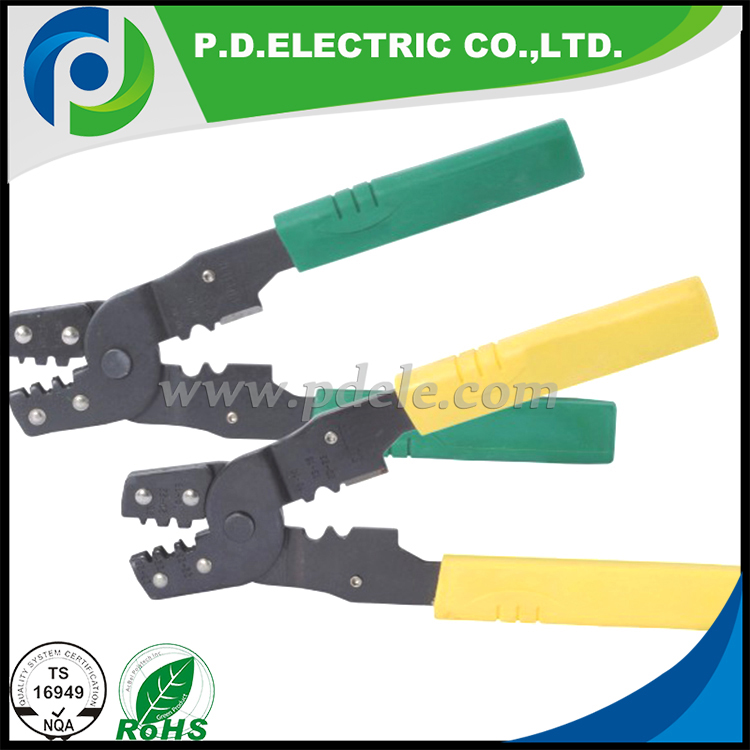 RV terminals energy saving ratchet crimping plier tools made of special steel