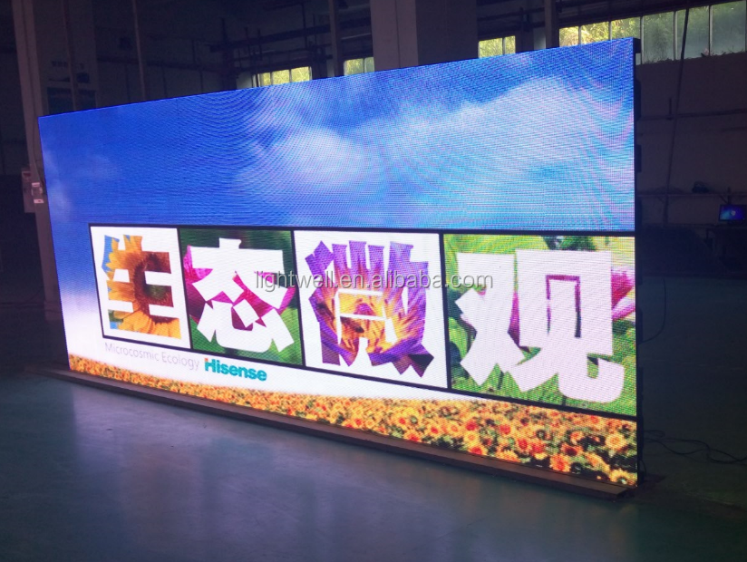 2017 Indoor Usage and Full Color Tube Chip Color indoor video wall P5mm