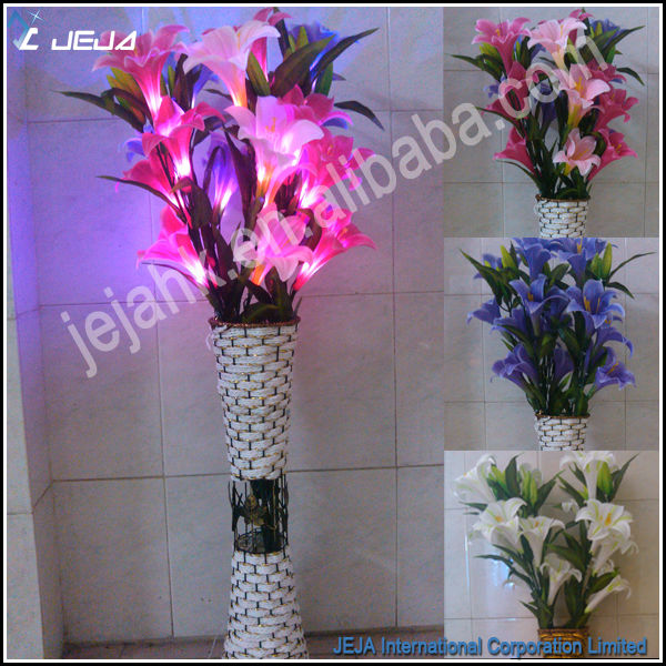 outdoor lighting flowers led flower light