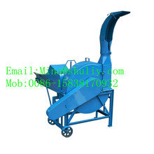High efficiency hay chopping machine/dry and wet hay cutting machine