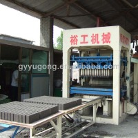 Cinder/fly ash/cement block/brick making machine for sale in usa