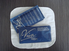 disposable moist wet napkin