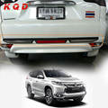 Car rear bumper guard plastic accessories for mitsubishi pajero montero 2012