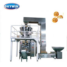 Combined Scale Weighing and Automatic Packing Machine For Bear Biscuit Production Line