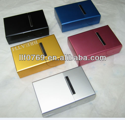 Factory sells metal cigarette case,cigarette box,metal box