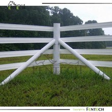 Customzied easy to install horse/dog plastic/pvc/vinyl fence