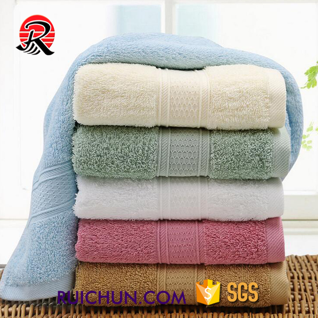 supplier custom disposable 100% cotton bulk hotel terry face towels
