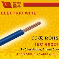 LSOH LSZH Copper Heat Resistant Stranded Core Electric Wire